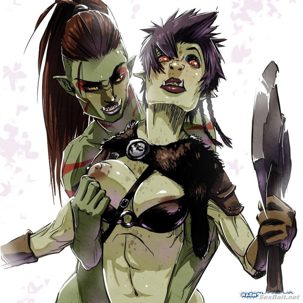 Anime skyrim porn games sexy orc girls  xxx picture
