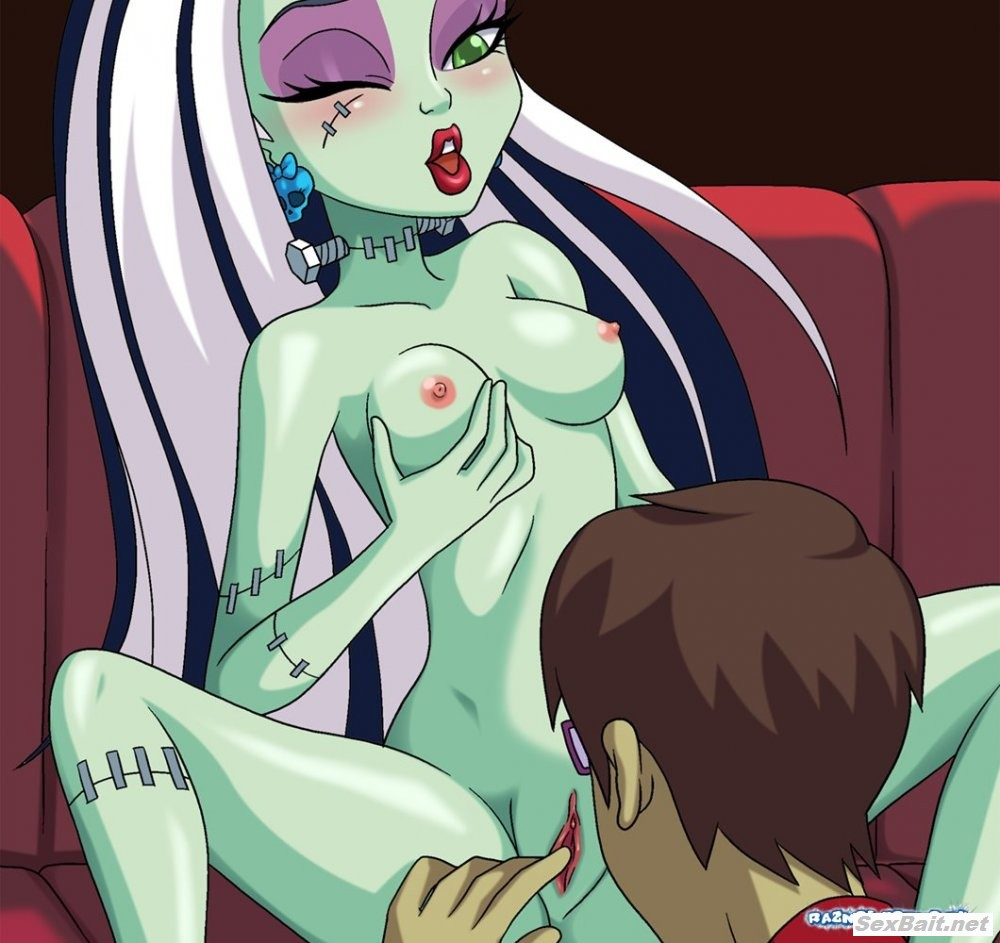 Cartoon lesbian monster high videos porn sport woman
